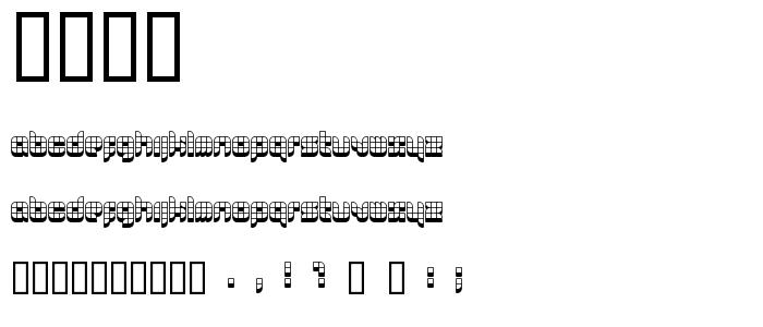 0629 font