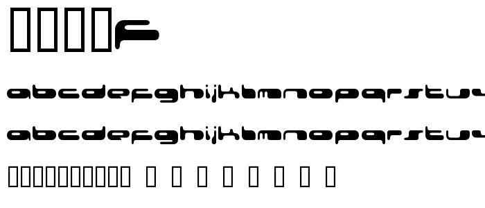 0802f font