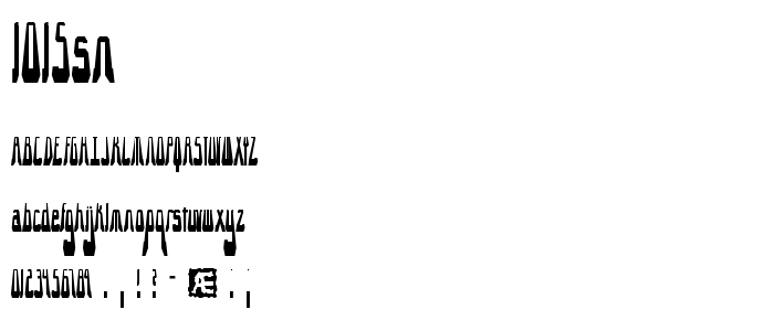 1015sn font