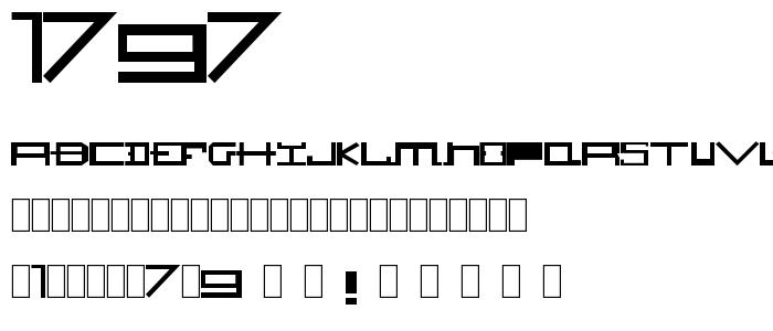 1797 font