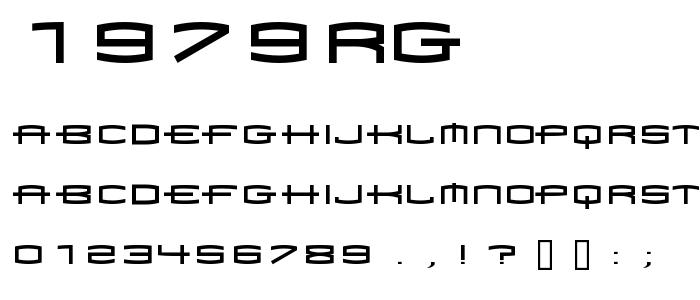 1979rg font