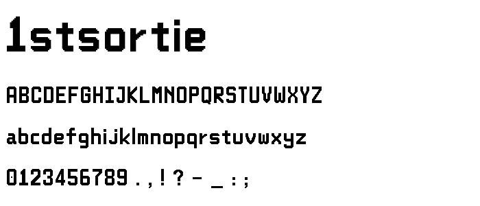1stsortie font