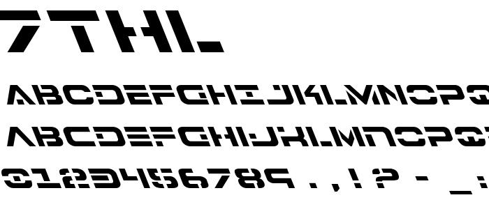 7thl font