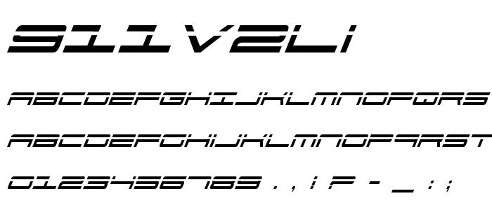 911v2li font
