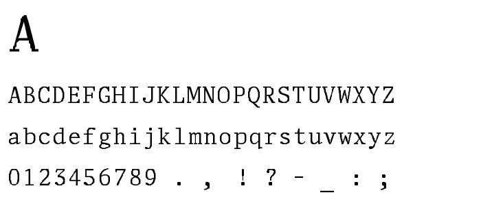 Adjutant font