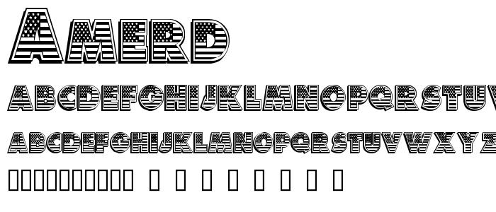 Amerd font