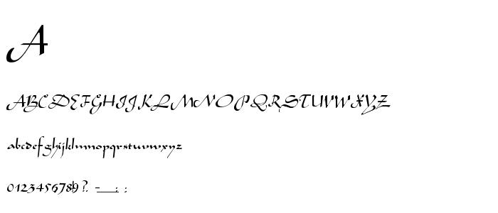 Arabian1 font