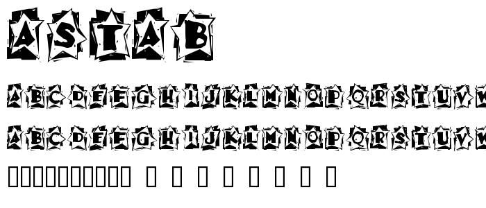Astab font