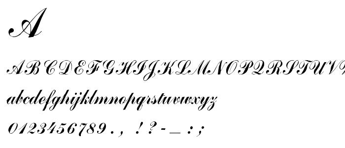Arenski font