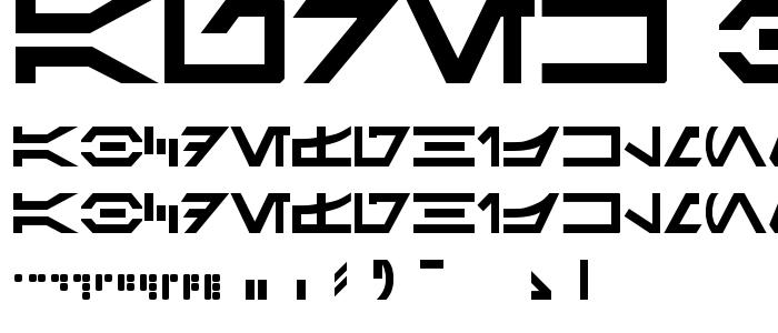 Aurek Besh font