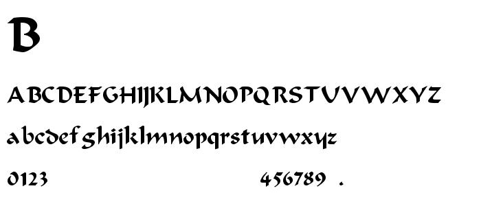 Bodaciou font
