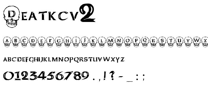 Deatkcv2 font