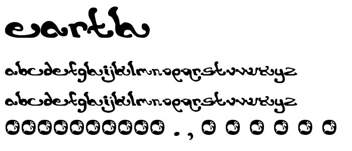 EARTH.TTF font