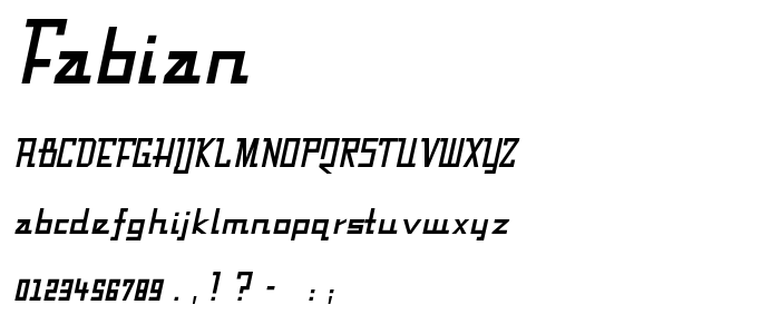 FABIAN__.TTF font