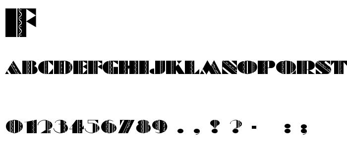 Feteacco font