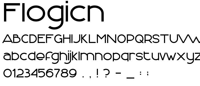Flogicn font
