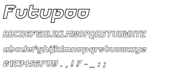 Futupoo font