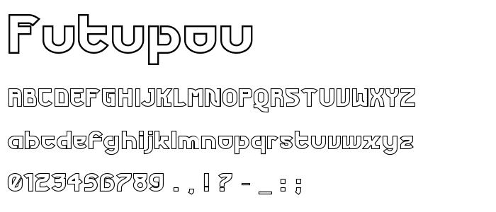 Futupou font