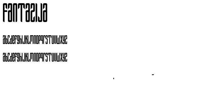 Fantazija font