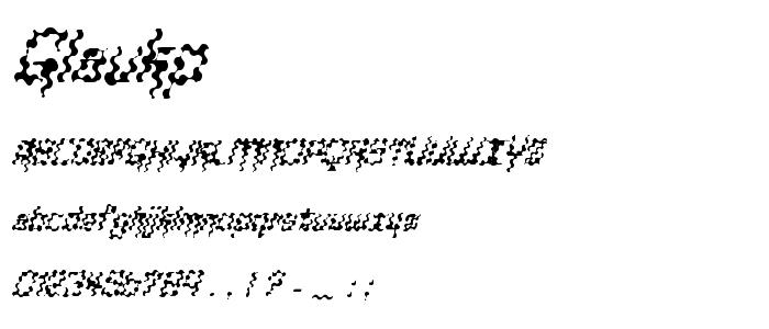 Glaukp font