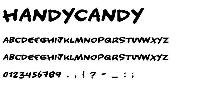 Handycandy.ttf font