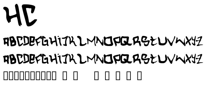 Hc font