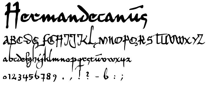 Hermandecanus font