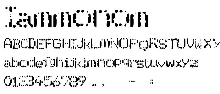 IAMMONOM.TTF font