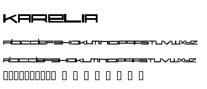Karelia font