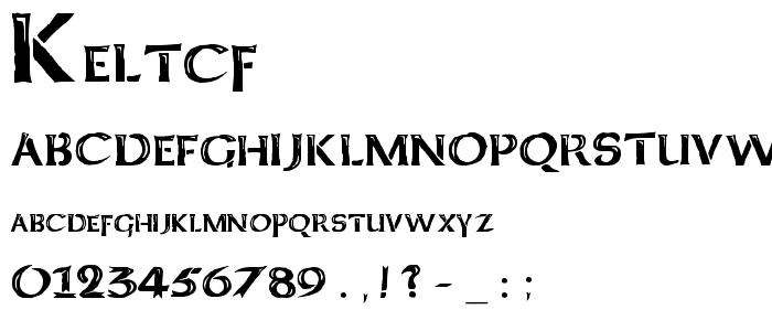 Keltcf font