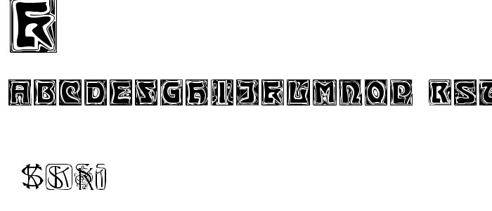 Kinigste font