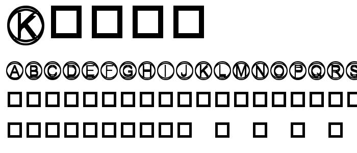Knapp font