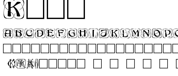 Kokk font