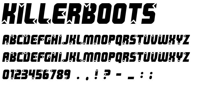 Killerboots font