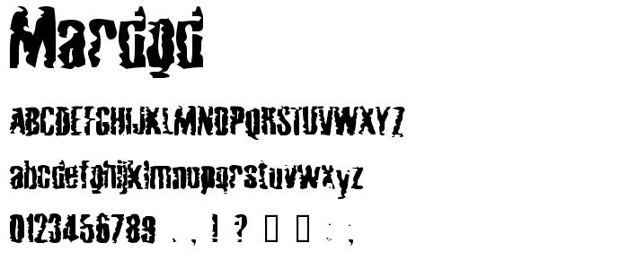 Mardgd font