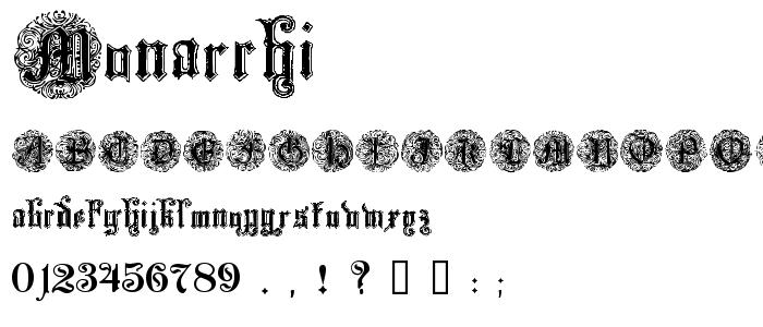 Monarchi font