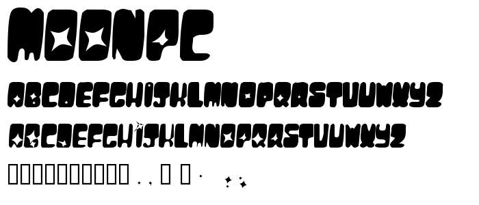 Moonpc font