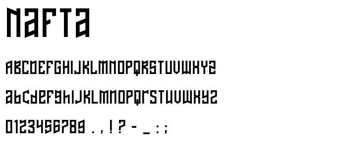 NAFTA.TTF font