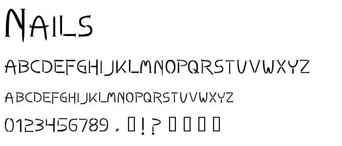 NAILS___.TTF font