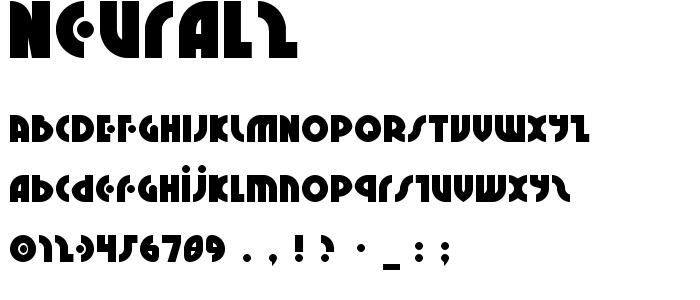 Neural2 font