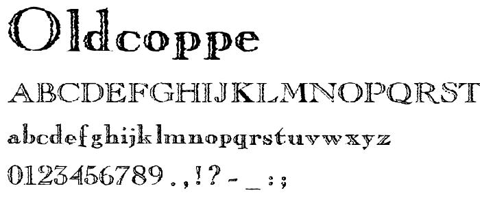 Oldcoppe font