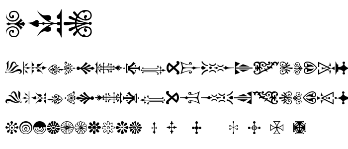 Pcorname font
