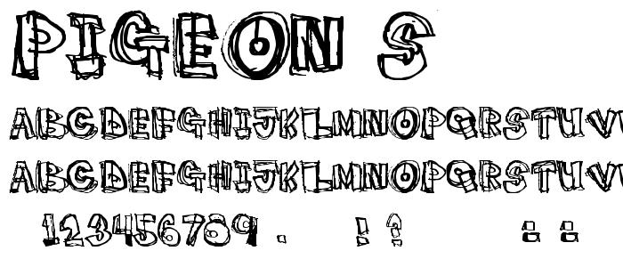 Pigeon S font