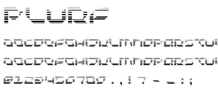 Plurf font