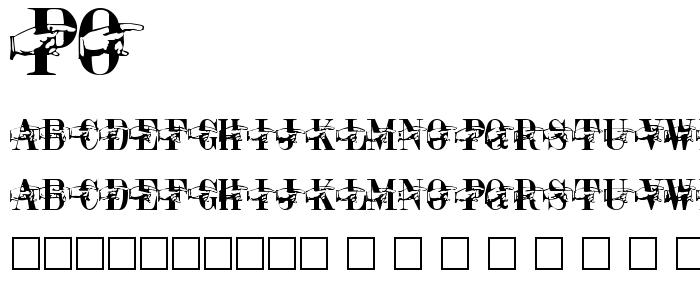 Po font