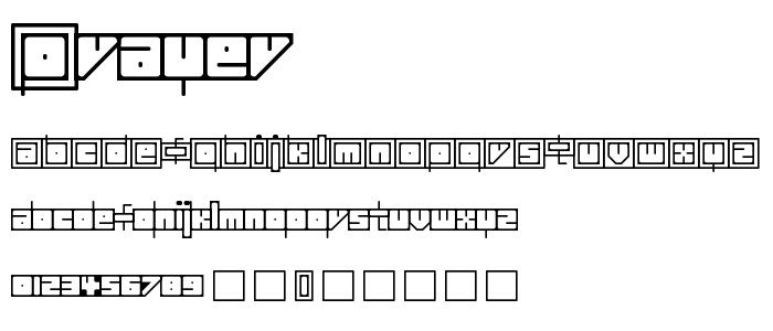 Prayer font