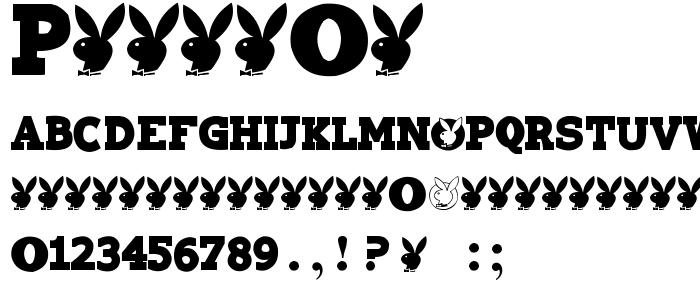 Playtoy font