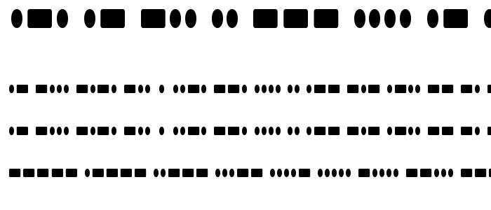 Radiohar font