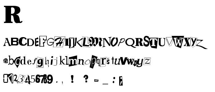 Ransomno font