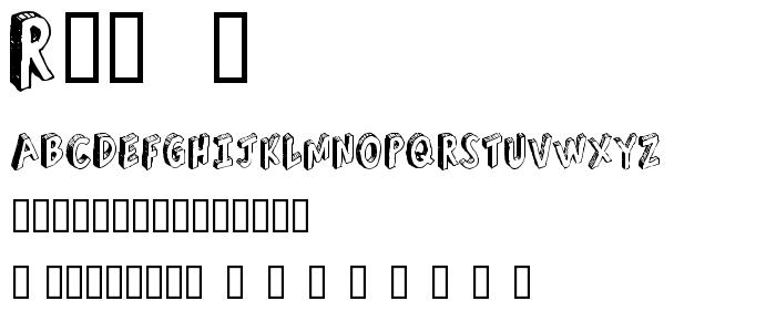 Refusetr font